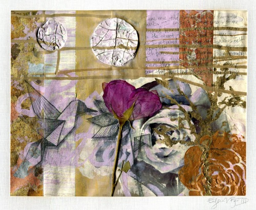 """Love Letter. 20""""x16"""". Mixed Media."""
